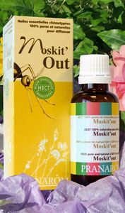 MOSKIT'OUT - aromatherapie diffuseur huile essentielle